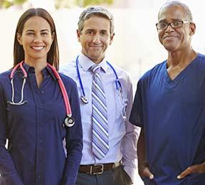 diverse doctors